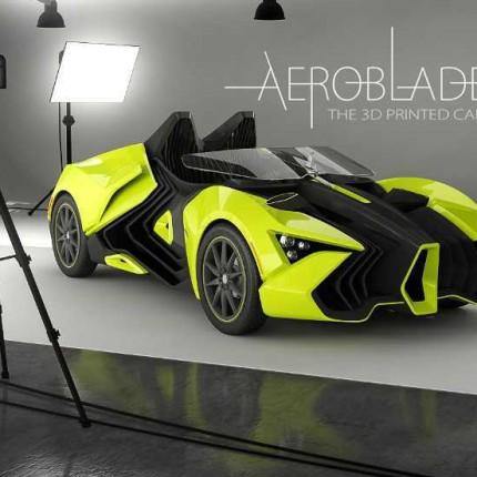 کاربرد پرینتر سه بعدی در اتومبیل سازی