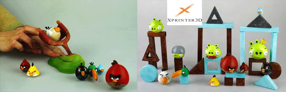 پرینتر های سه بعدی اسباب بازی