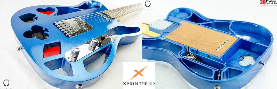 چاپ گیتار الکتریک چاپگر سه بعدی