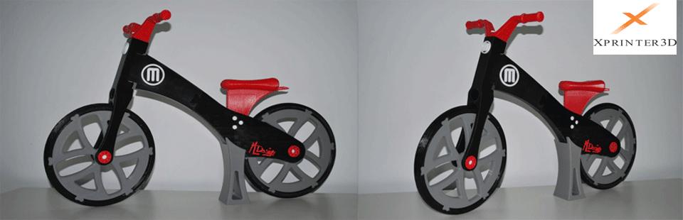 پرینتر های سه بعدی دوچرخه