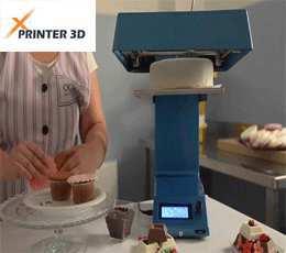 پرینتر سه بعدی اشپزی