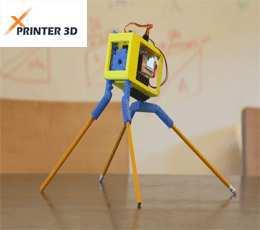 ربات نقاش پرینترهای سه بعدی