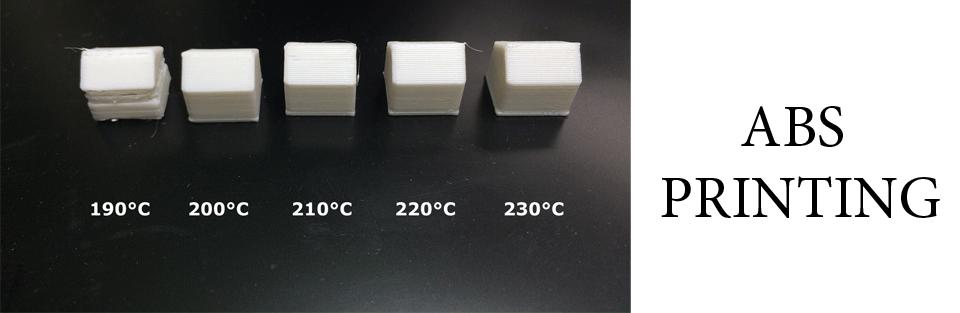 چاپ متریال abs پرینتر سه بعدی