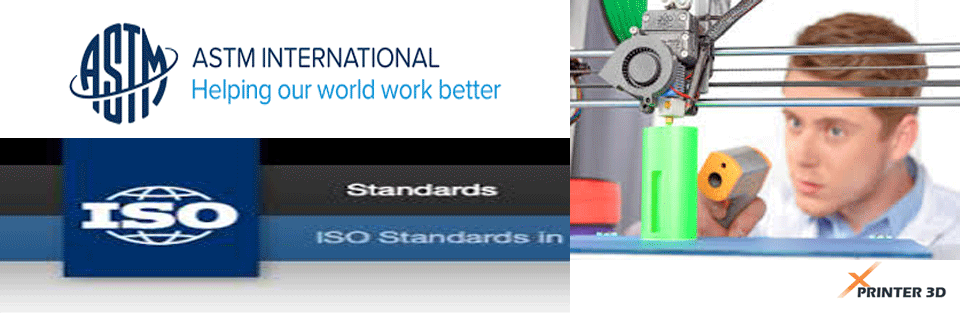 استاندارد های جهانی پرینتر سه بعدی