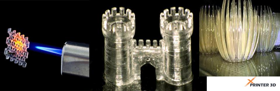 پرینت سه بعدی شیشه ای