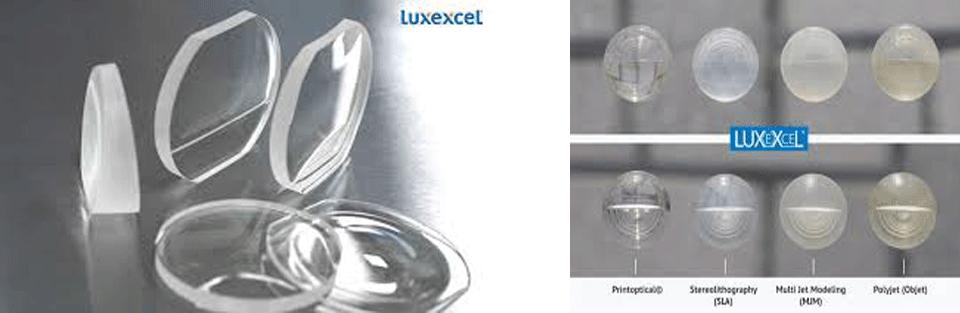 لنز های چاپ سه بعدی
