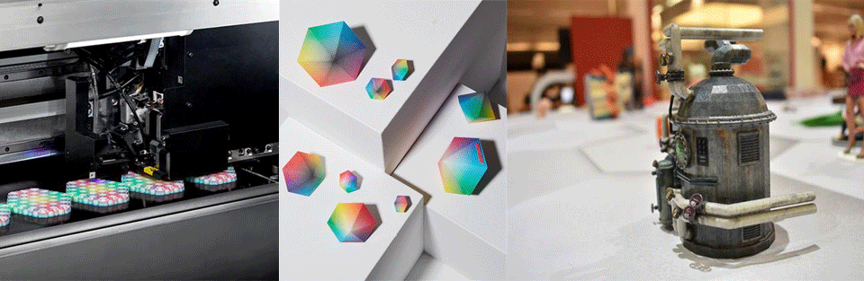 پرینتر سه بعدی رنگی (چاپگری با 10 میلیون رنگ )