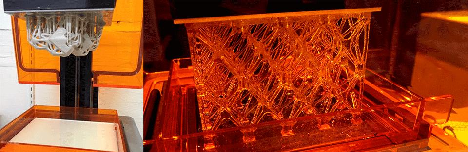 مواد مصرفی پرینتر سه بعدی dlp و sla و پرینتر سه بعدی رزینی