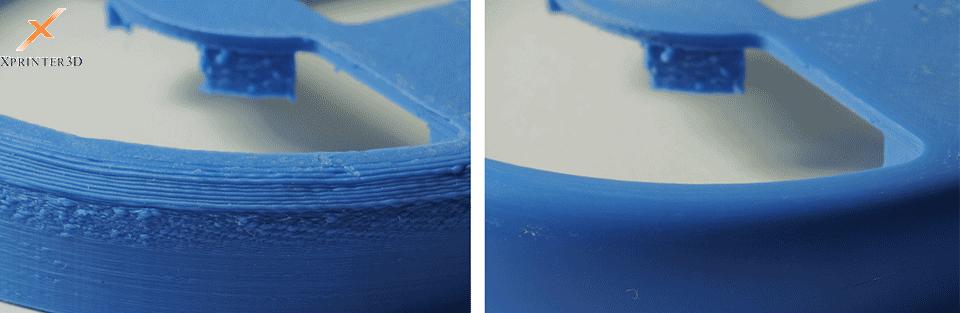 پولیش کردن قطعات پرینتر سه بعدیوپرداخت قطعه سه بعدی بوسیلهسنباده