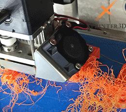 نازل پرینتر سه بعدی - خطاهای پرینتر سه بعدی