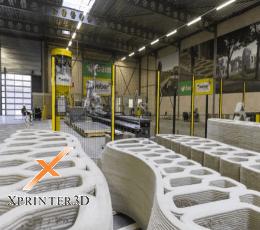 پیشرفت فناوری چاپ سه بعدی در تولید پل بتونی