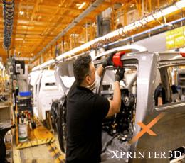 فناوری چاپ سه بعدی در کارخانه نیسان