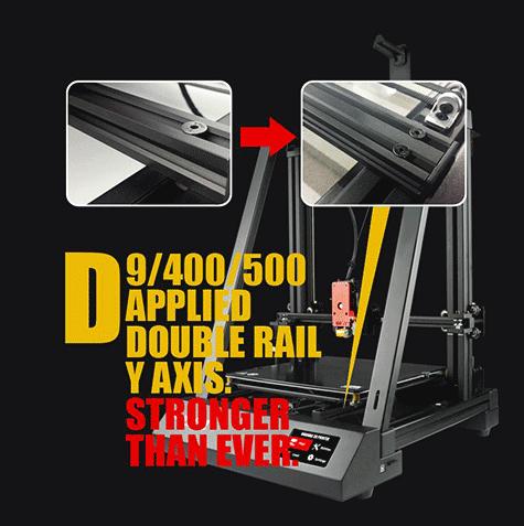 بدنه فلزی Wanhao d9 300 -400 -500